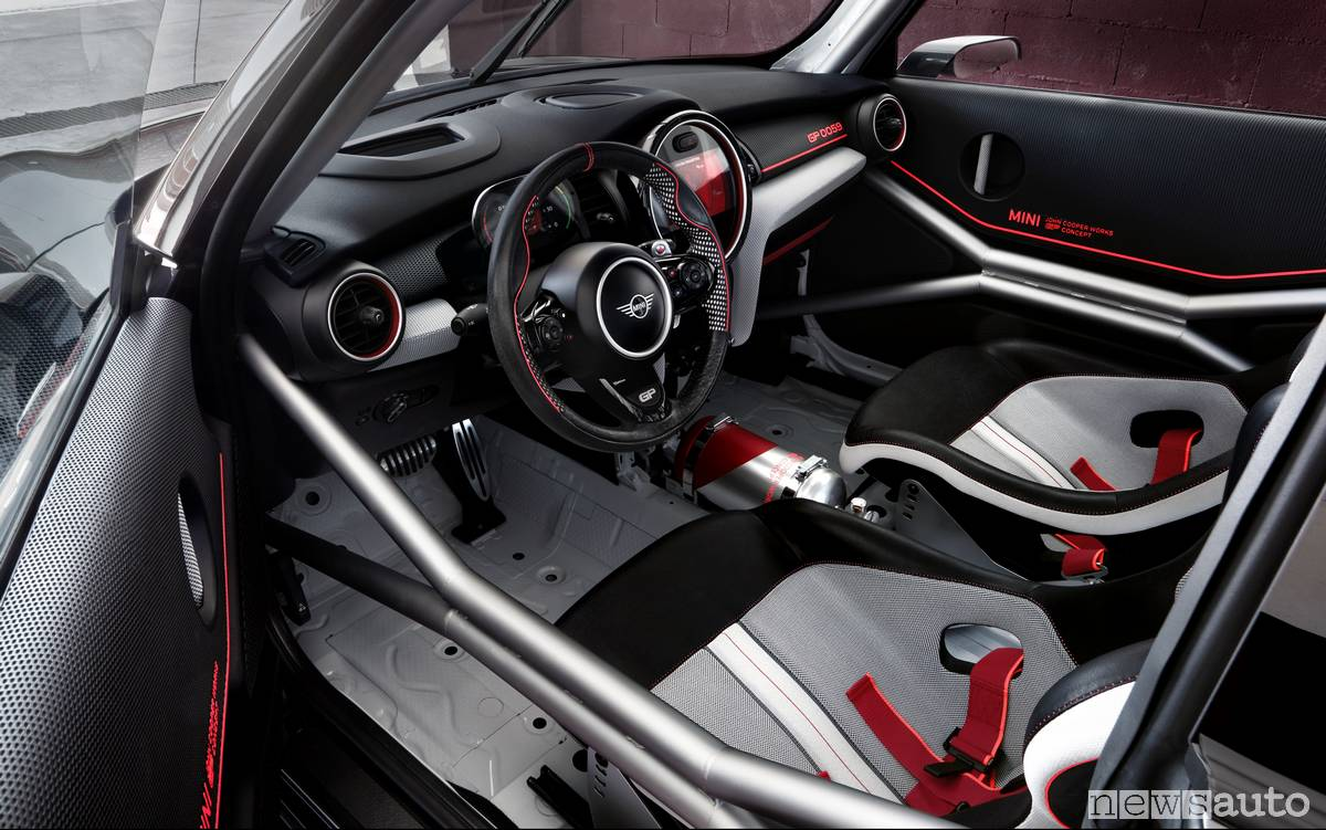 Mini John Cooper Works interni
