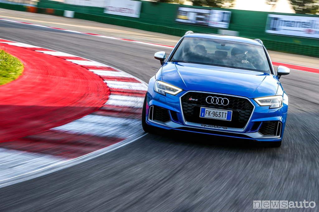 Audi Rs 3 Prova Su Strada Ed In Pista A Misano Newsauto It