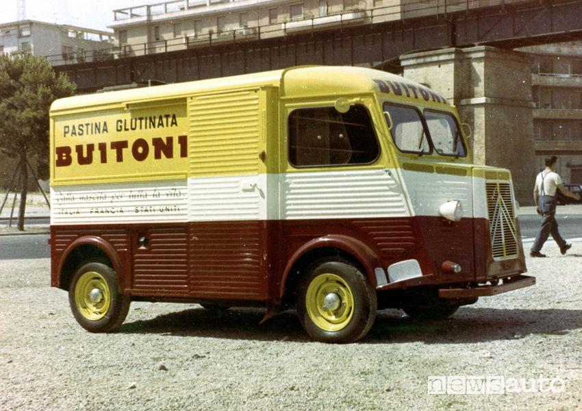 Citroën Tipo H veicolo commerciale storico