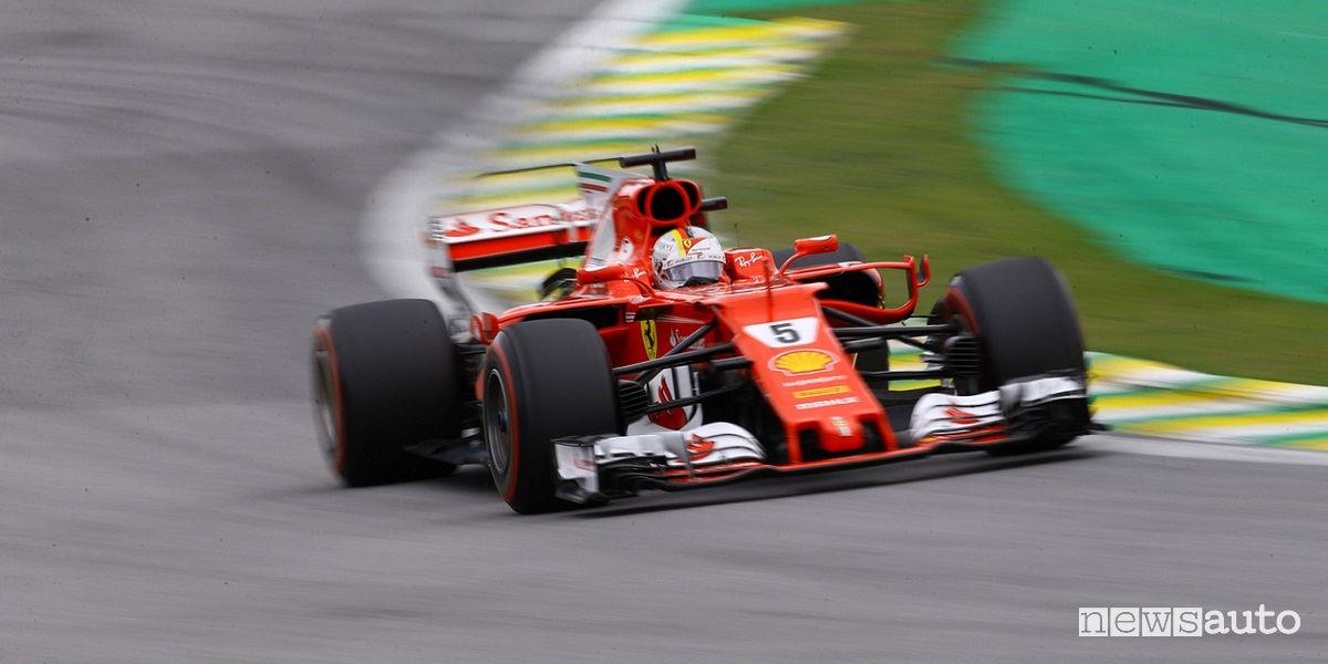 Gp Brasile F1 2017 Vettel