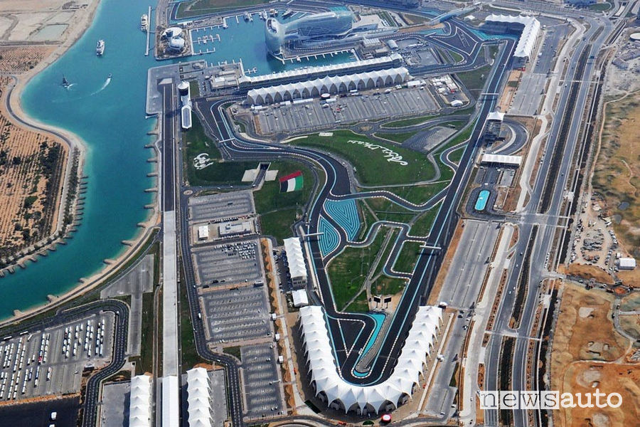 F1 Abu Dhabi circuito Yas Marina F1