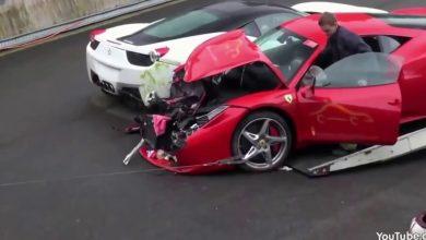 Incidente Supercar Ferrari