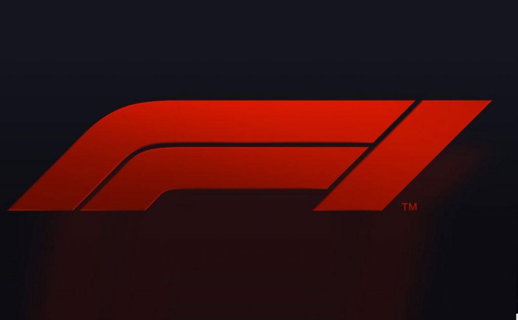 nuovo logo f1 fondo nero