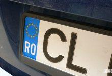 Targhe estere assicurazione Romania