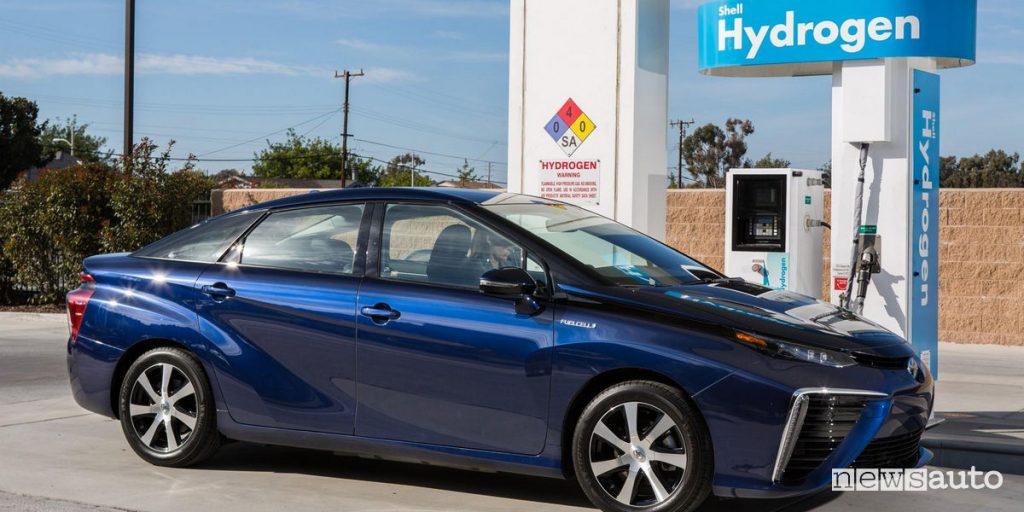 Distributore ad idrogeno Toyota Mirai