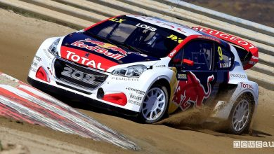 Photo of Peugeot Rallycross Sudafrica WRX