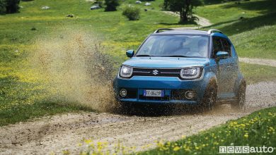 Photo of Suzuki Ignis ibrida prova su strada ed offroad