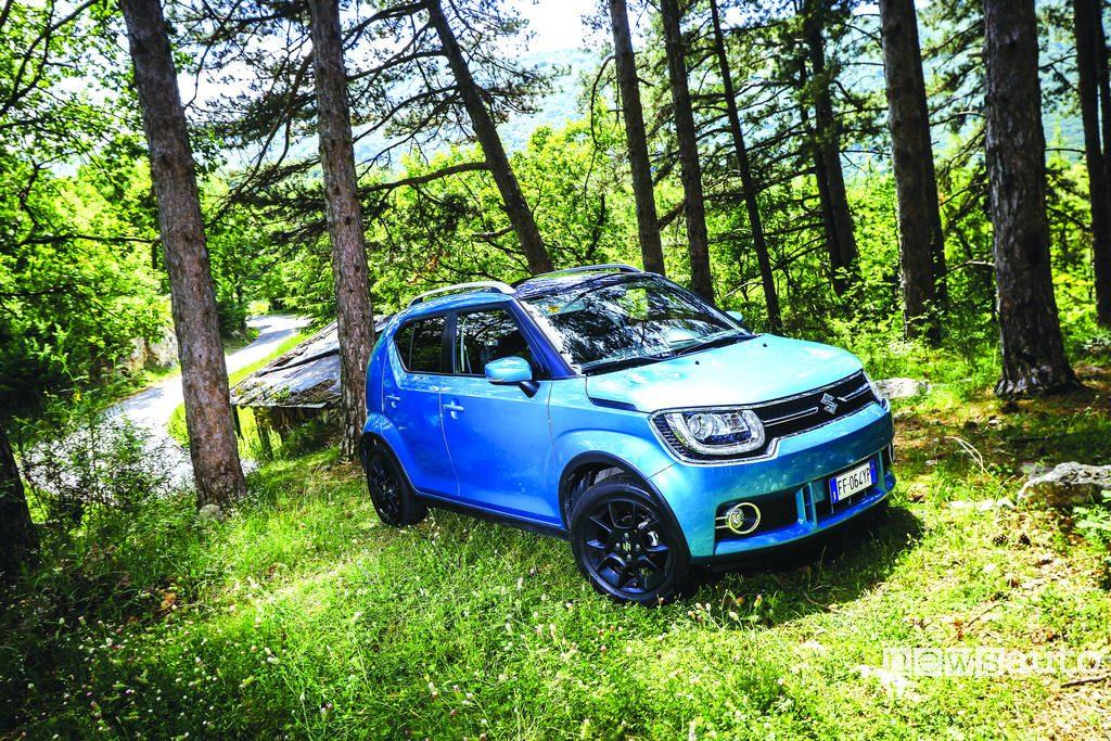 10 auto ibride più vendute in Italia Suzuki Ignis prova su strada offroad