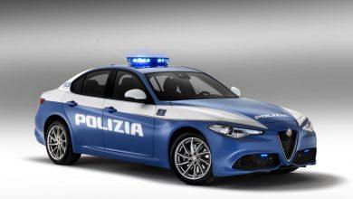 Foto auto Polizia Alfa Romeo Giulietta