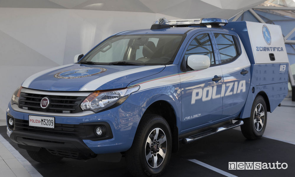Fiat Fullback alla Polizia Scientifica