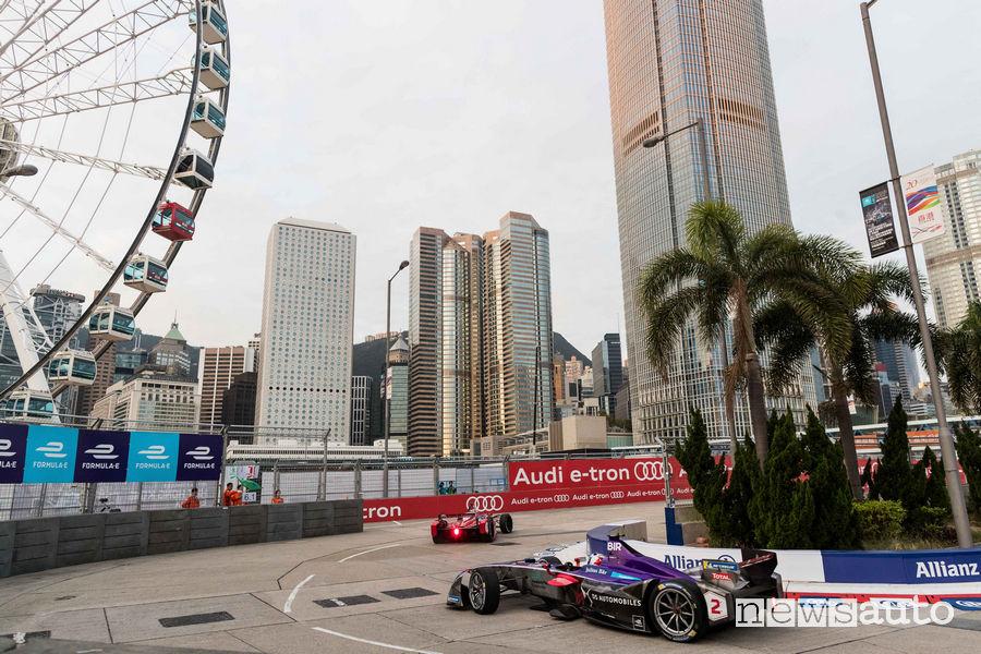 Formula E 2017 classifiche gara Hong Kong