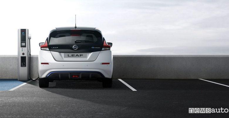 colonnine ricarica auto elettriche Europa Nissan Leaf 2018