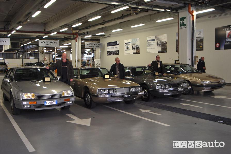 Certificazione auto storiche Citroen