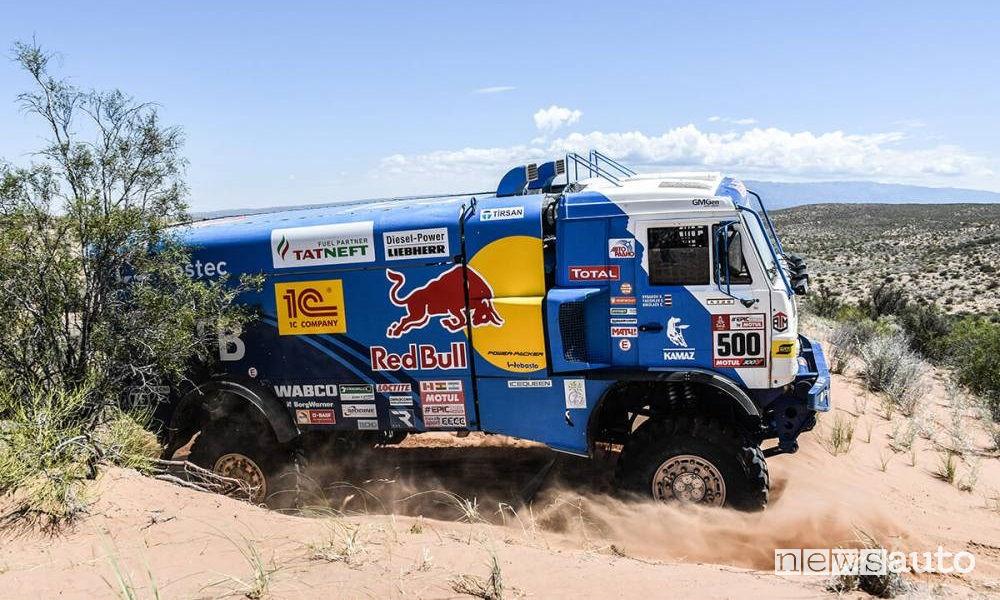 Dakar 2018 13^ tappa San Juan-Cordoba Kamaz