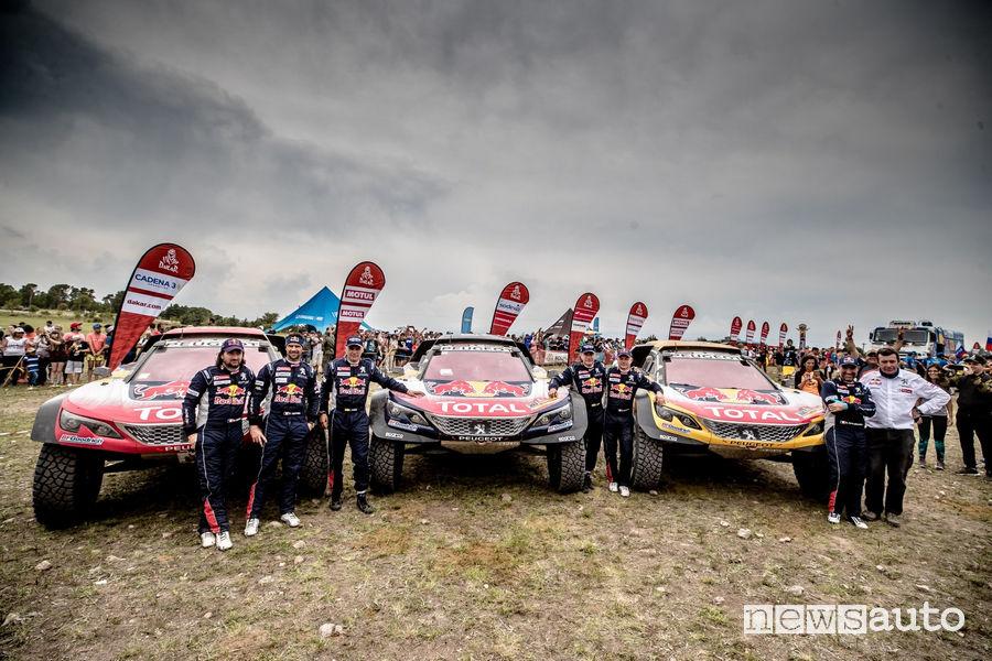 Dakar 2018 14^ tappa Peugeot 3008DKR Maxi