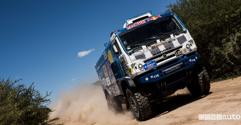 elenco iscritti camion Dakar 2018 Kamaz