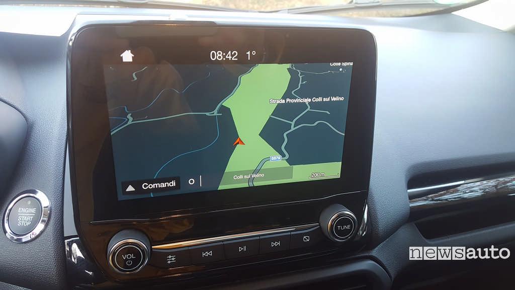 Ford Ecosport Sync 3