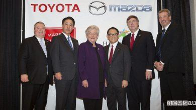 Photo of Mazda e Toyota si uniscono per produrre auto negli USA
