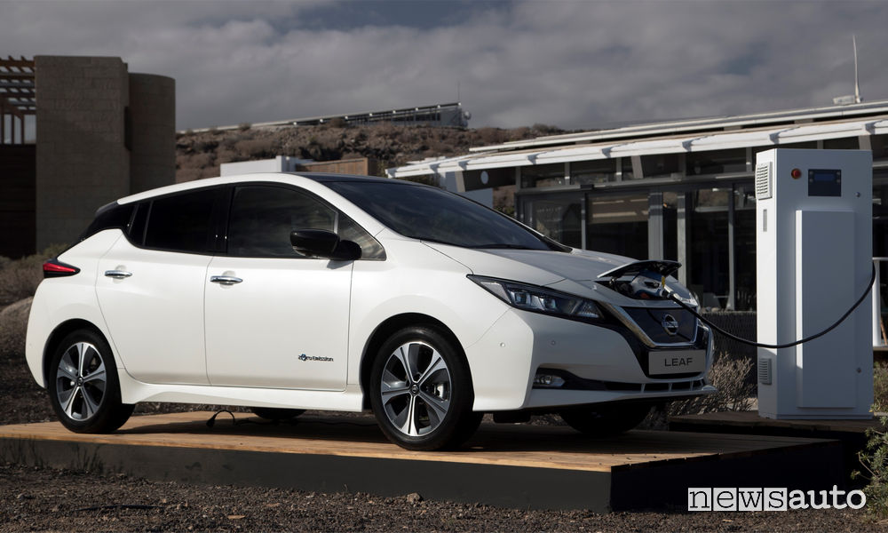 Incentivi auto elettriche Nuova Nissan Leaf 2018