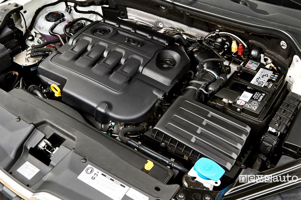 Skoda Karoq 4x4 TDi motore