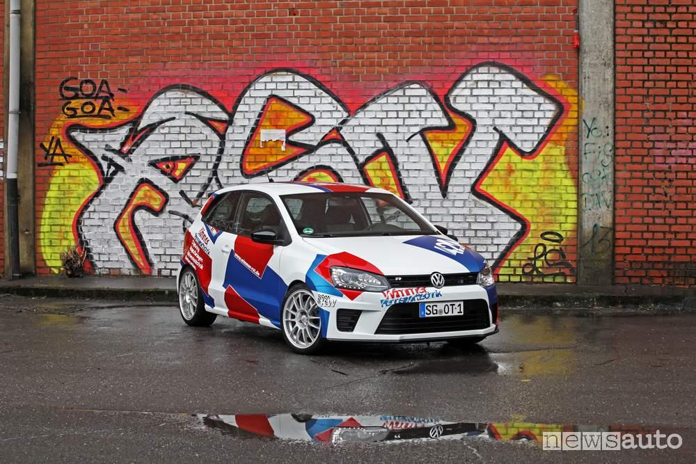 VW Polo-R WRC Tuning vista frontale