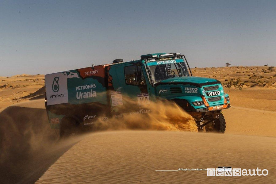 Africa Eco Race 2018 Iveco Petronas