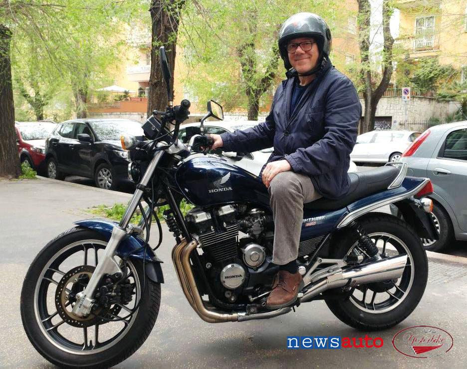 Carlo Verdone Moto Honda