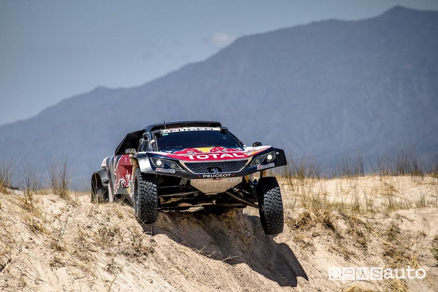 Dakar 2018 10^ tappa Salta-Belen Peugeot 3008DKR Maxi