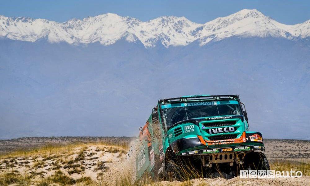 Dakar 2018 10^ tappa Salta-Belen truck Iveco Petronas