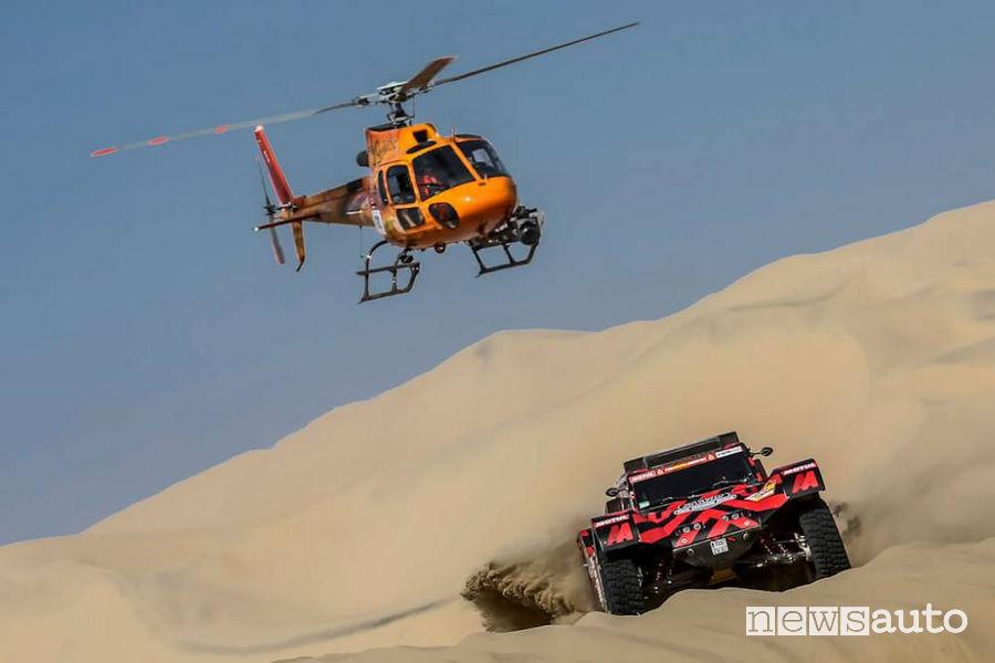 Dakar 2018 3^ tappa Eugenio Amos