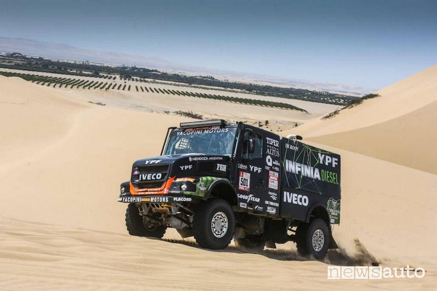 Dakar 2018 3^ tappa Villagra (Iveco Powerstar De Rooy)