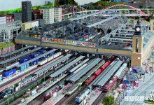il più grande modello ferroviario Miniatur Wunderland di Amburgo