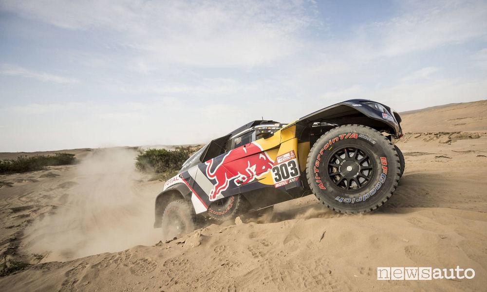Dakar 2018 6^ tappa Carlos Sainz Peugeot 3008DKR Maxi