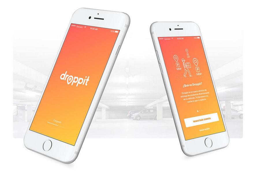 la spesa in auto app Droppit
