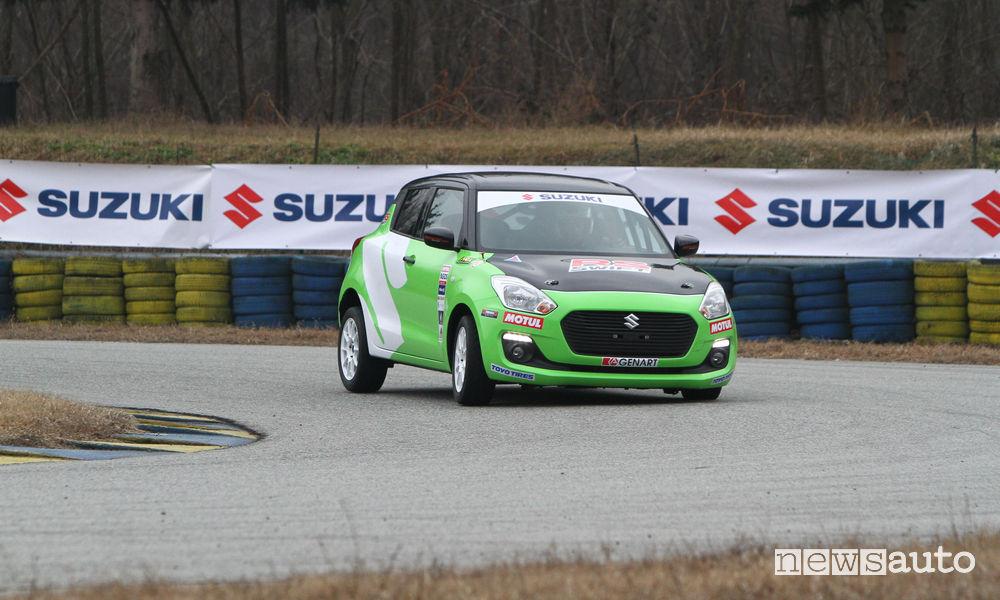 Suzuki Swift rally 2018
