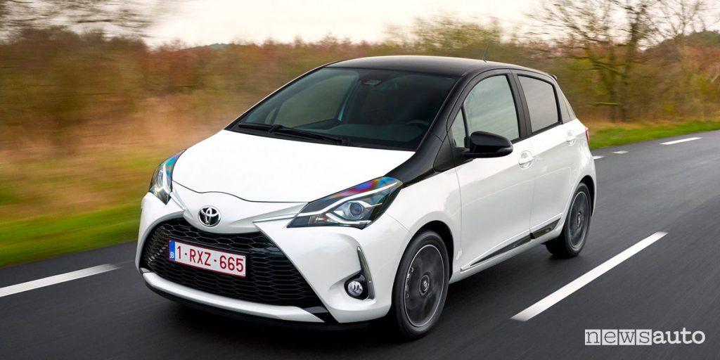 10 autoibride più vendute in Italia Toyota Yaris