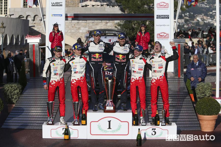 wrc 2018 classifica Rally Montecarlo