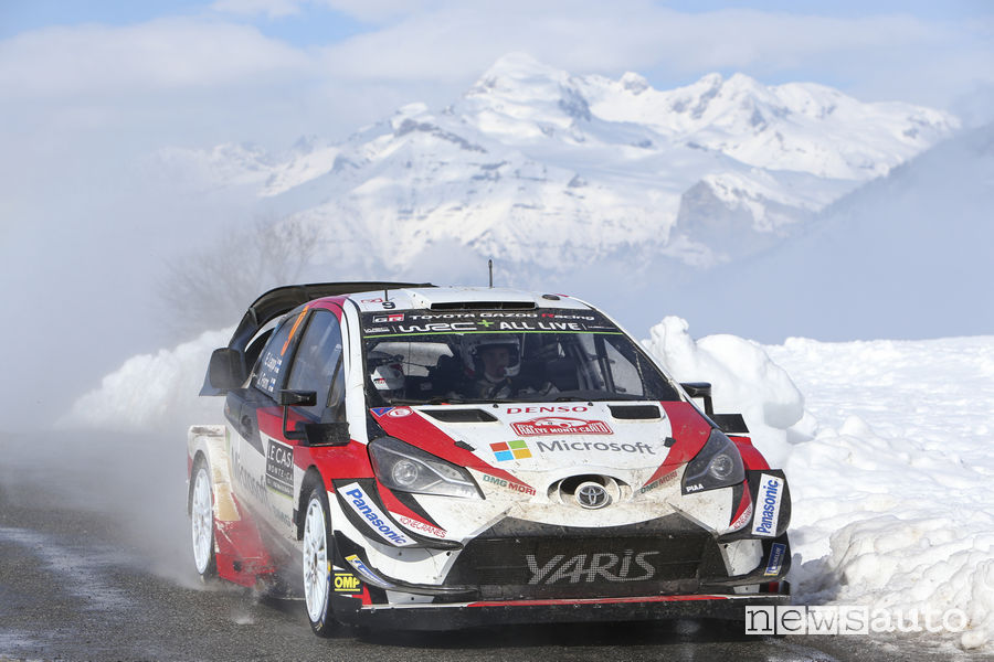 WRC 2018 Rally Montecarlo