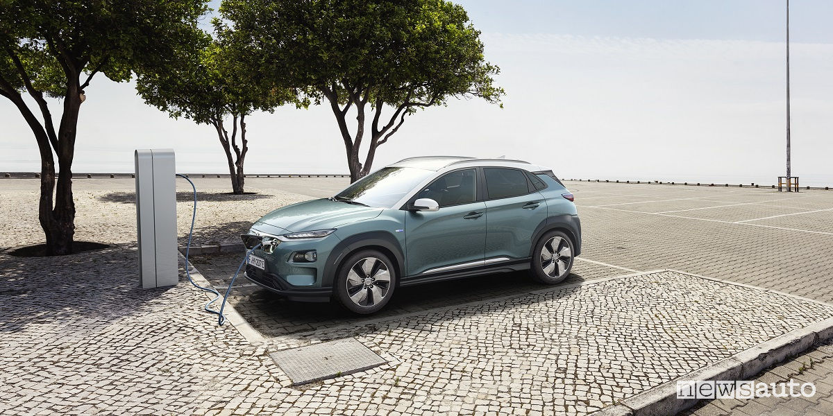 Hyundai Kona elettrica 2018