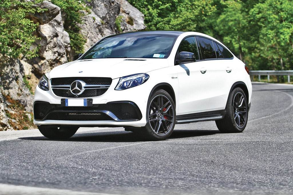 Mercedes-AMG GLE 63 S vista frontale