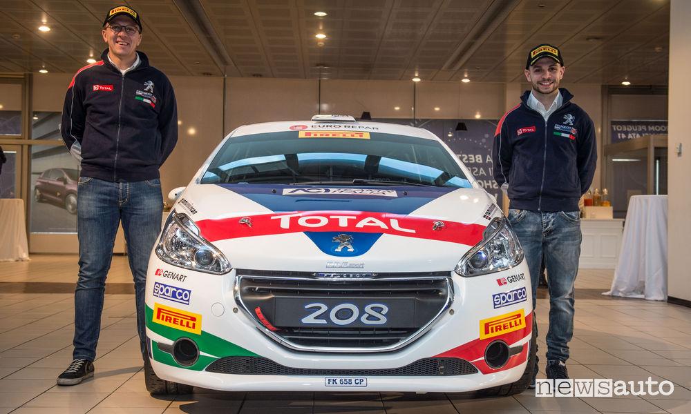 Peugeot Rally 2018 De Tommaso