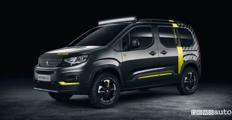 Photo of Concept Peugeot Ginevra 2018 Rifter 4×4