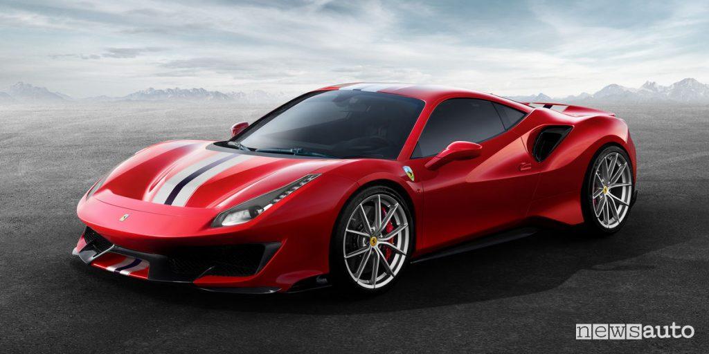 premio supercar dell'anno Ferrari 488 Pista