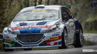 Classifica Rally Ciocco 2018 Peugeot 208 T16 Andreucci