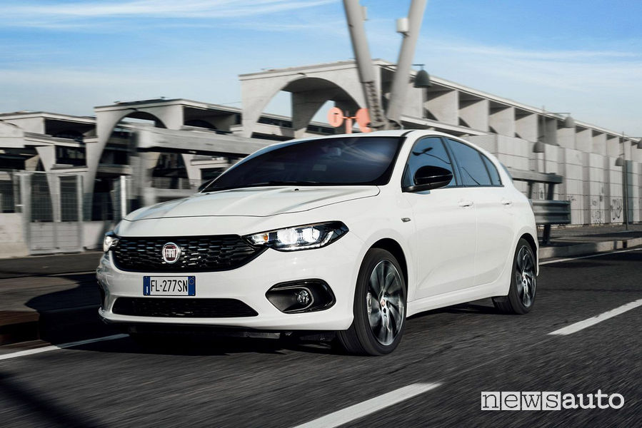 Fiat Ginevra 2018 Tipo S-Design Auto neopatentati più vendute
