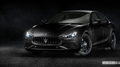Maserati Ginevra 2018 Ghibli Nerissimo Edition