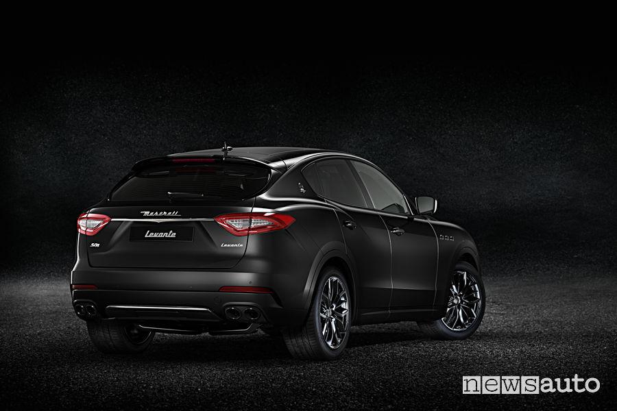 Maserati Ginevra 2018 Levante Nerissimo Edition