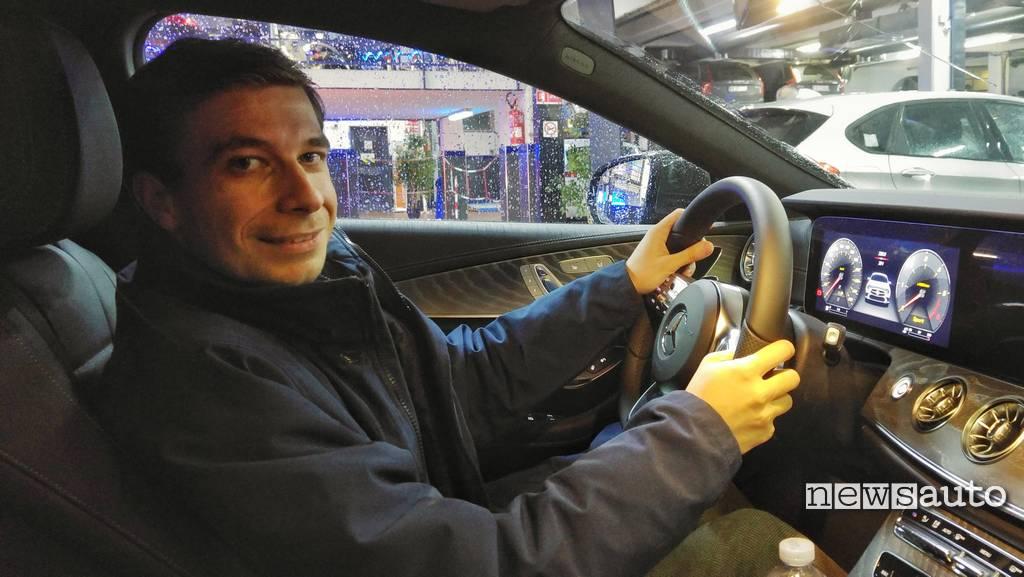 Mercedes-Benz CLS la prova