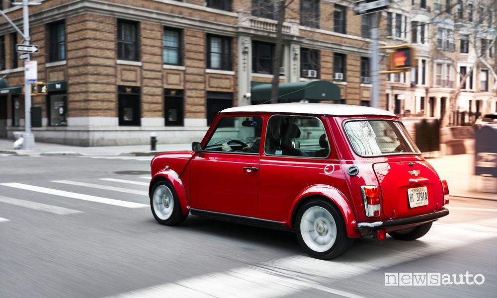 Auto storica elettrica Mini Electric Classic