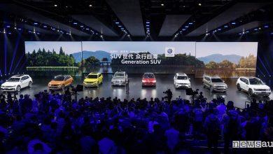 Volkswagen in Cina gamma SUV